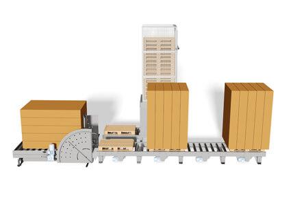 Stakvender til alle slags madrasser, både i papkasser eller uden