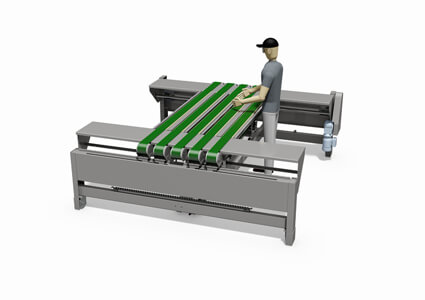 Variable belt conveyor