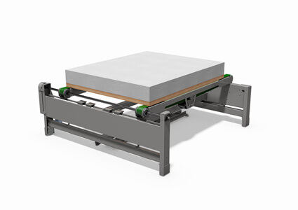 Conveyor for bedframes