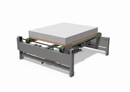 Conveyor for bedframes