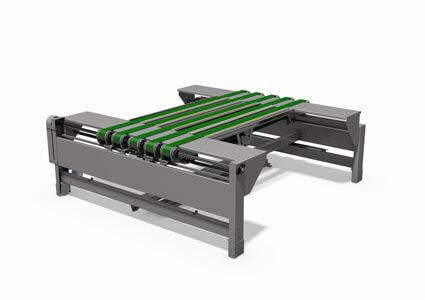 Automated adjusted conveyor