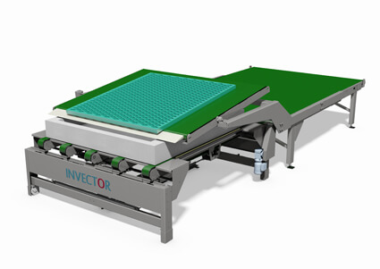 Automatic spring core filler